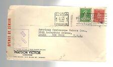 1941 Sydney Australia to Bronx New York USA Commercial Censorship Cover