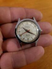 Rare Vintage Cornell EXTRA THIN Men's Military Swiss Watch Runs Great
