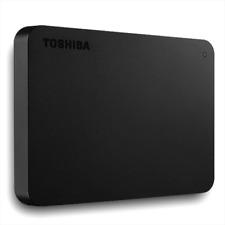 2TB - Toshiba Canvio Basics USB 3.0 Portable External Hard Disk Drive Black New
