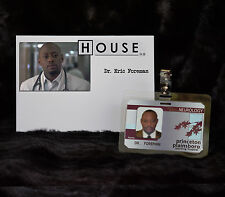 """TV SERIES HOUSE MD EXACT REPLICA COLLECTOR PROP """"DR ERIC FOREMAN"""" HOSPITAL ID"""
