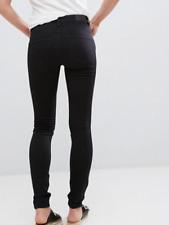 Monki mocki Women's slim mid waist jeans Size 4/6 24inch waist RRP £30