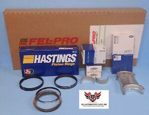 FEL PRO CLEVITE HASTINGS CHEVROLET 5.3 99 00 01 RE-RING REBUILD OVERHAUL KIT