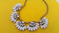 J Crew daisy petal necklace NWT Authentic! Wedding new statement bride bridemaid