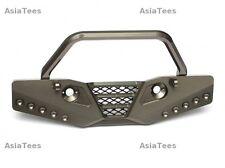 Axial SCX10 CNC Machined Aluminum Front Bumper - 1 Pc Gun Metal Boom Racing