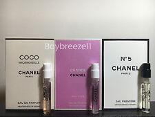 3 Chanel Fragrance: Coco Mademoiselle EDP, Eau Vive EDT, No5 Eau Premiere EDP
