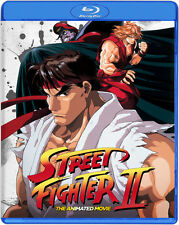 Street Fighter Ii The Animated Movie (2016, Blu-ray New)