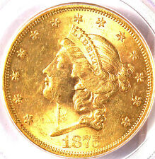 1875-S $20 MS61 PCGS/PQ-ONLY 194 IN HIGHER GRADE -TRENDS $7000-LOOKS LIKE 63