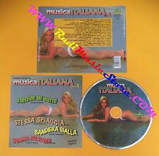 CD Compilation Musica Italiana Vol.1 FIDENCO PUPO DIK DIK no lp mc dvd vhs(C26)