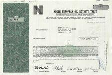 North european oil royalty trust,1976