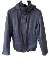 Fabulous Spyder Satin Black Ski Jacket Ladies Size 14