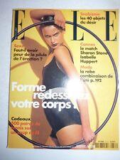 Magazine mode fashion ELLE French #2733 18 mai 1998