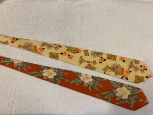 """Tommy Bahama"" Neckties; Lot of 2"