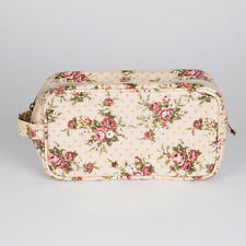MAKE UP BAG OIL CLOTH FLORAL LADY ANTOINETTE RANGE 10 X 20CM BY SASS BELLE