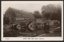 Suffolk. Brandon. Bridge from Ouse Hotel. 1911 Postmarked Real Photo Postcard