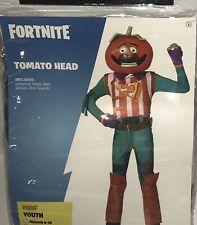 Fortnite Youth Tomato Head Halloween Costume Child Size XL (14-16)