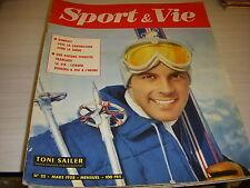 SPORT & VIE 22 03.1958 SKI Toni SAILER FOOT LIMOGES BONIFACI AUTO CITROEN DB