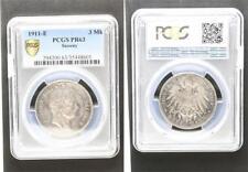 3 Mark Silber 1911 E Sachsen, Friedrich August PP PCGS PR63