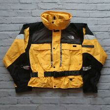 Vintage North Face Steep Tech Ski Jacket Womens Size M S Yellow Snow