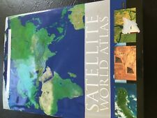 Satellite World Atlas Barnes and Noble 2006  HARD COVER  Tabeltop Book