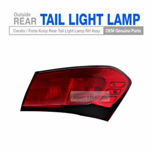 OEM Parts Rear Tail Light Lamp RH Outside For KIA 2014-2017 Cerato Forte Koup 2D
