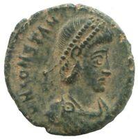 Constantius II Cyzicus SMKΔ AD357-356 SPES REI PVBLICE 2,1g/16mm #ANN1208.9DW