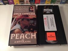 Peach & Bitter Song Lesbian Drama Short Films VHS 90's Lucy Lawless New Zealand