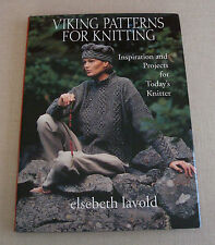 Viking Patterns for Knitting Elsebeth Lavold HC/DJ 1st Edition 14 Projects