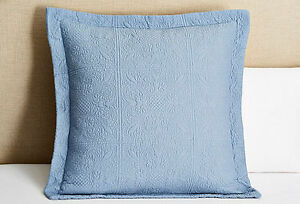 YINFUNG Euro Sham Covers White Matelasse European Pillow Sham 26x26 Set of 2 Textured Polka Dot Weave Quilted Embroidered Farmhouse Geometric Cotton Brocade Large Square Pillow Covers