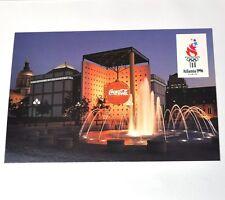 Coca-Cola Atlanta USA 1996 Olympia Coke Pavilion cartolina cartolina