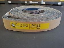 Klingspor CS411X Abrasive Belts 50x3450mm Grit 36 (Pack of 10)