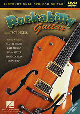 Learn ROCKABILLY GUITAR Troy Dexter DVD Lesson Book BRIAN SETZER SCOTTY MOORE