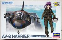 Hasegawa TH19 AV-8 HARRIER Eggplane (Egg Plane) Series