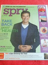 SPRY MAGAZINE JULY 2013 DR. OZ HEALTH TERMS YOU SHOULD KNOW BELLY FAT