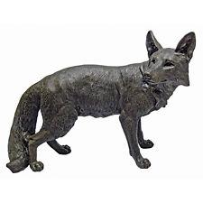 Bushy Tail Fox Cunning Trickster Garden Statue Yard Nature Decor