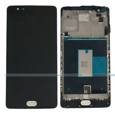 """OnePlus 3 Three 1+3 A3000 A3003 5.5"""" LCD Display Touch Digitizer Assembly+Frame"""