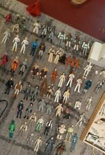 Vintage Kenner Star Wars figures with accessories 1977-85 Collection