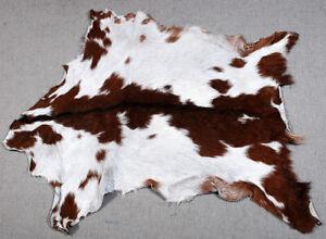 GOAT Western taxidermy Hide Rug Natural Pattern Fur Goat Hide Rode SA-3271