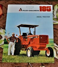 VTG Advertising 1977 Allis Chalmers Diesel Tractor 185 Brochure