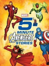 5-Minute Stories Ser.: 5-Minute Avengers Stories by Marvel Press Book Group (2015, Hardcover)