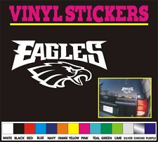 NFL Philadelphia Eagles Football window car truck vinyl sticker decal