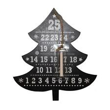 Anker Blackboard Days until Christmas Advent Countdown Plaque - Tree