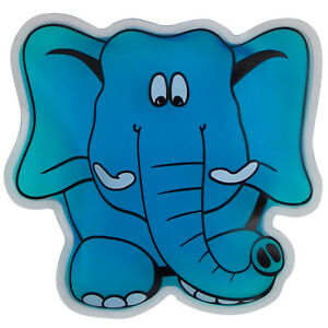 X80 Koolpak Elephant Kids Reusable Hot/Cold Gel Ice Pack for Pain Relief & Fever