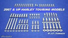 2007-16 HARLEY TOURING ULTRA ROAD KING STREET GLIDE POLISHED STAINLESS BOLT SET