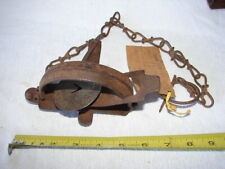 Vintage Sport Hunting Animal Trap Oneida Jump 1 1/2 Community Ny