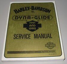 Service Manual Harley Davidson Dyna Glide 1991 + 1992 Reparaturanleitung!