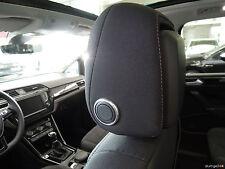 VW CC 35 PASSAT b7 3c b8 3g TIGUAN 5n aluringe alluminio Poggiatesta R-Line r36 SPORT