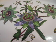 Portmeirion The Botanic Garden Blue Passion Flower Passiflora Caerulea Tray 14""