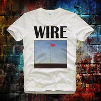 Wire Pink Flag  Tee Top  Vintage Cool Unisex Ladies T Shirt B588