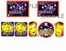 THEATER OF MAGIC Pinball Machine Target Cushioned Decals