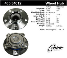 Wheel Bearing and Hub Assembly-Premium Hubs Front Centric 405.34012